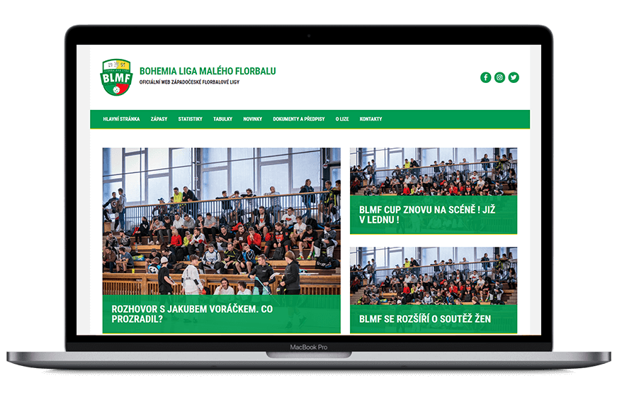 Nový web BLMF !